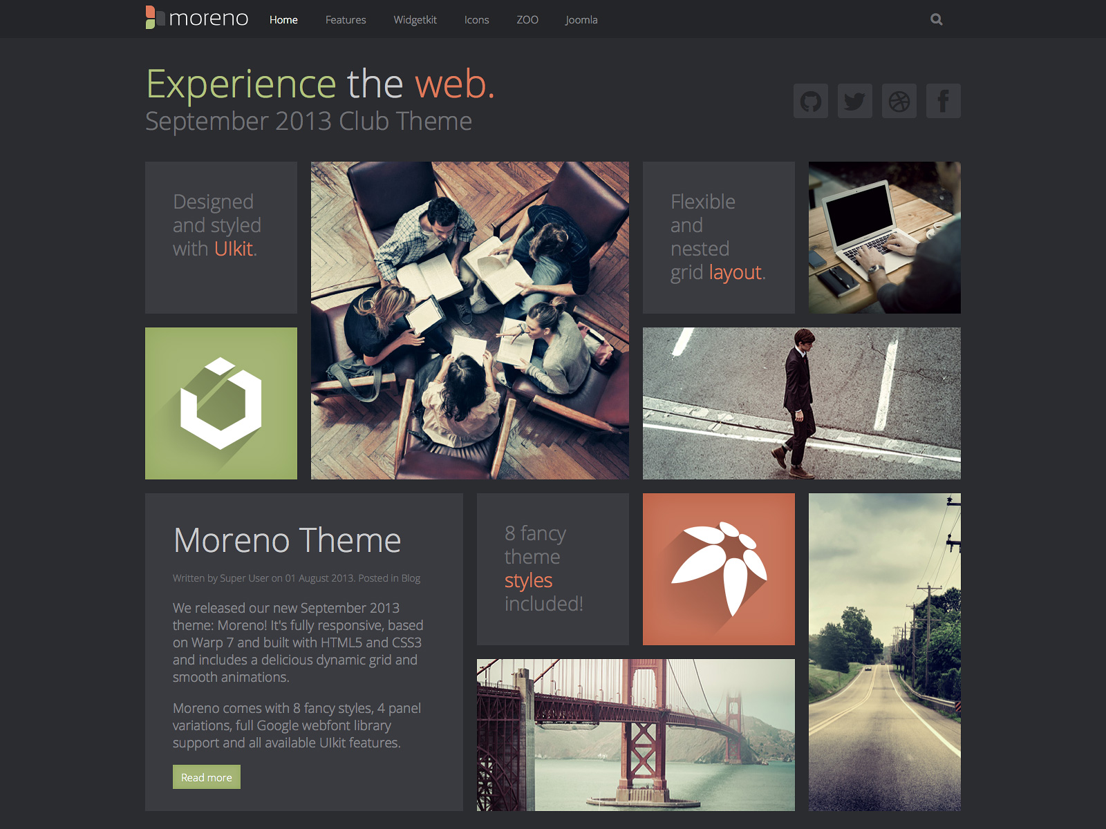 Awesome Yootheme Template Gallery - Examples Professional Resume ...